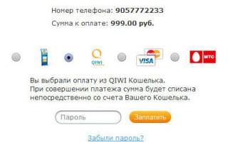 Как оплатить через QIWI кошелек, оплата с помощью «qiwi кошелек»