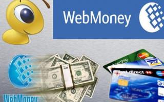 Как можно вывести деньги с Вебмани