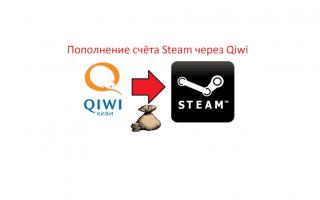 Как пополнить счет стим через QIWI